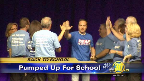 Rally held for CUSD employees
