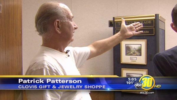 Kinkade paintings worth $300K stolen in Fresno