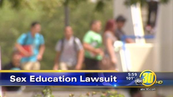 Clovis Unified sued over sex education classes