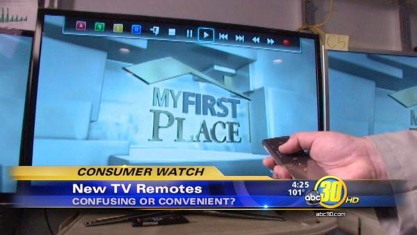 Improved TV remotes?