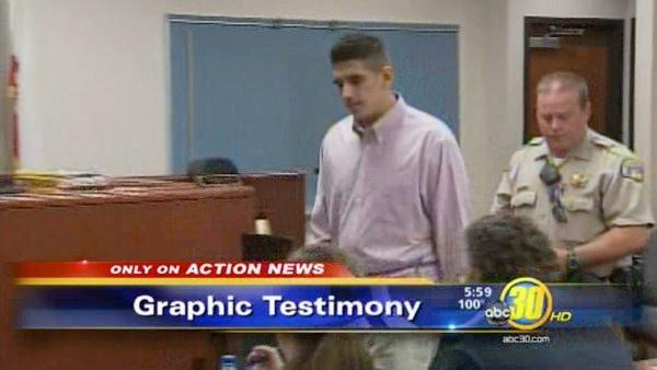 Graphic testimony in Exeter child death case