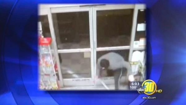 Police release video from Parlier break-in