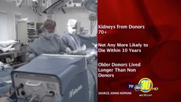 Old organs give new hope