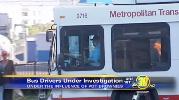 SoCal bus drivers on leave after eating pot-brownies