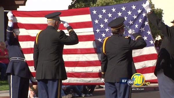Veterans gather for Clovis homecoming parade