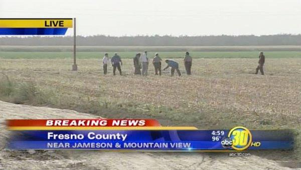 Body discovered in Fresno County field