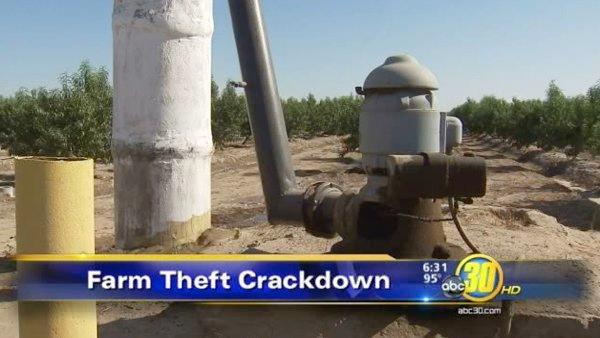 Accused Tulare Co metal thieves arrested