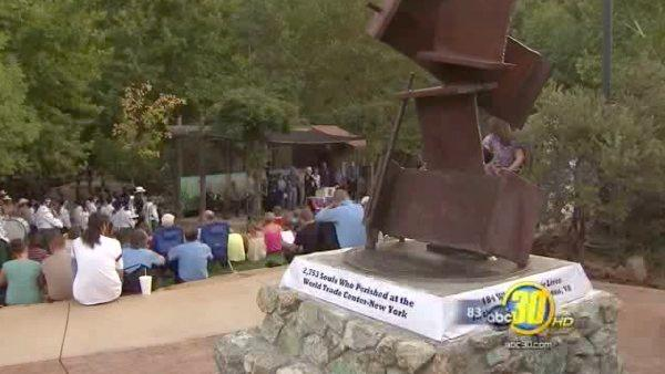 Unique Sept. 11 memorial unveiled in Mariposa