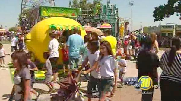 Gates open for day two of Tulare County Fair