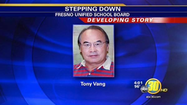 Dr. Tony Vang to retire from the Fresno Unified School Board