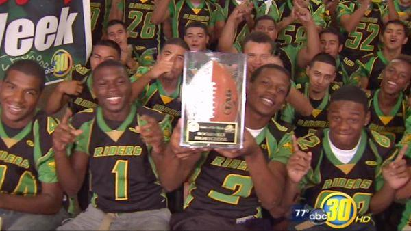 Me-N-Ed's Team of the Week: Roosevelt High