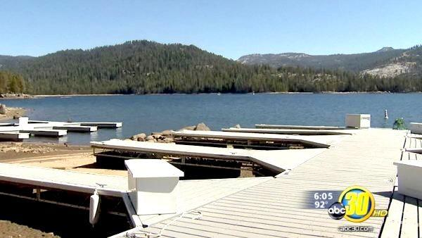 Huntington Lake water level expected to drop dramatically