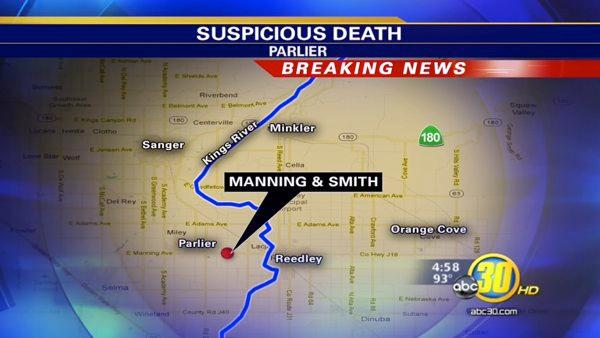 Body found in Fresno County in the city Parlier