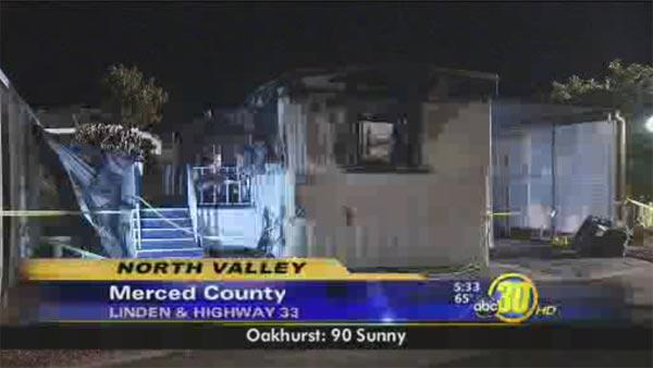 One person dies in Merced Co. mobile home fire
