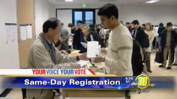 New law allows voters to register on election day