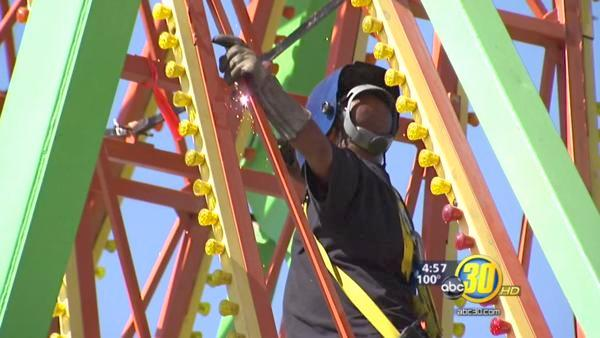 Big Fresno Fair busy with safety inspections