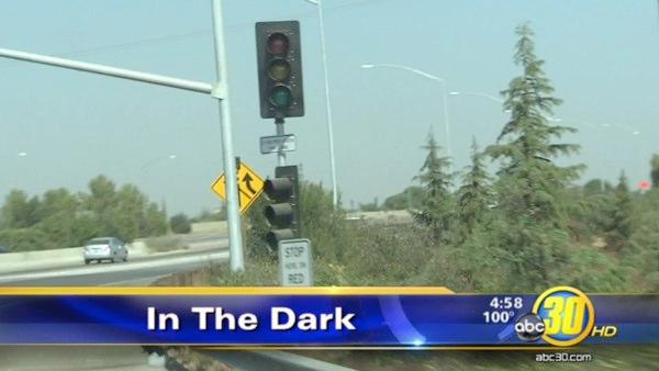 Copper wire thieves hit new meter lights on Hwy 41