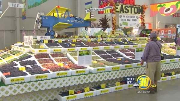 Big Fresno Fair showcases Valley produce