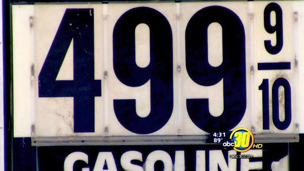 Prices at the gas pump remain high