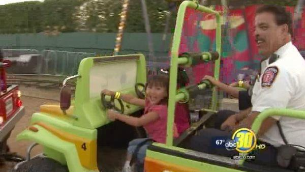 Kids get special day at fair thanks to firefighters