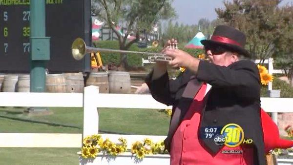 Big Fresno Fair's trumpet player popular with fans