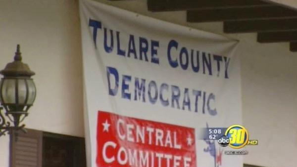 Electronics stolen from Tulare Co Democratic HQ