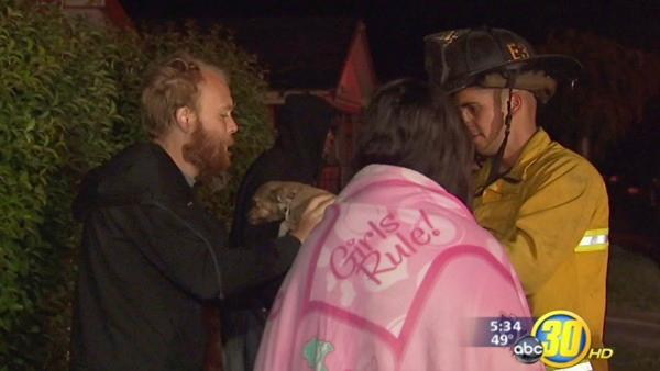 3 people,.several pets escape Fresno house fire