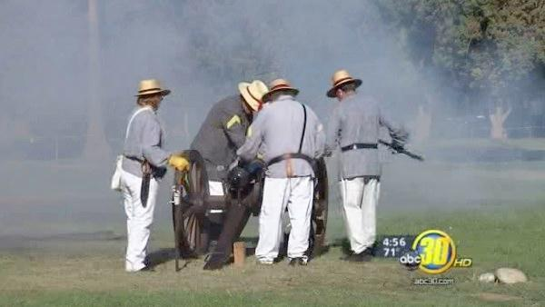 Valley students get Civil War experience