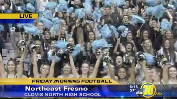 Friday Morning Football: Clovis North 1 of 2