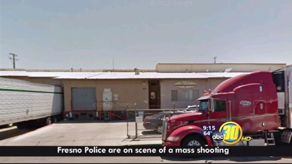 Mass shooting reported at a Central Fresno business
