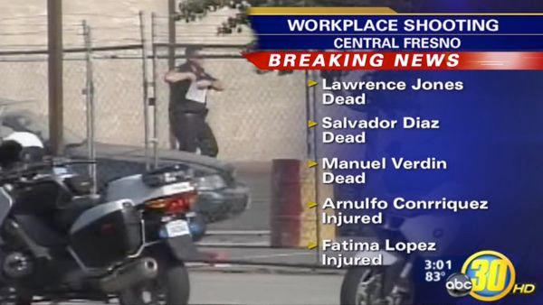 3PM Team Coverage on Fresno workplace shooting