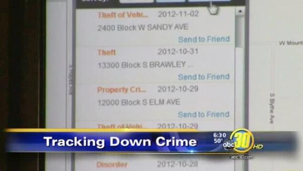 Fresno Co crime tracking tool goes online