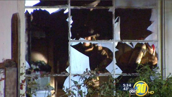 Crying baby alerts Fresno family to house fire