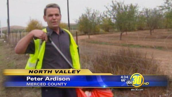 Merced County man is cleaning up his community