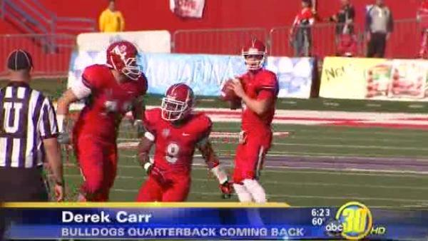 After Further Review - Carr to return to Fresno State
