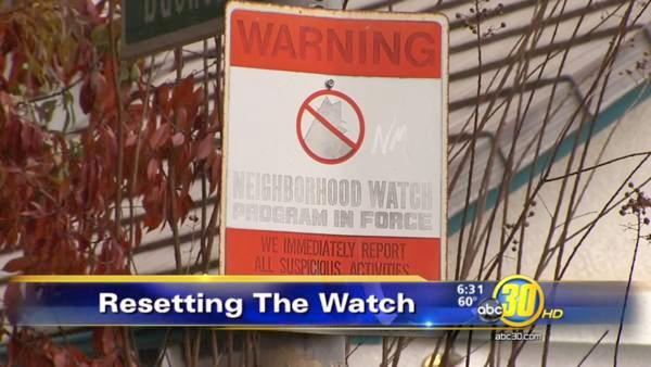Re-energizing the neighborhood watch program