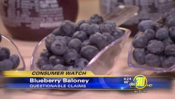 Blueberries? Baloney!