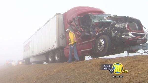 Fog a factor in multiple vehicle pileups on Hwy 198