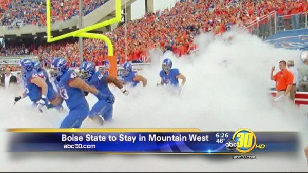Boise State to Stay in Mountain West