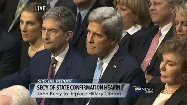 Senator John Kerry Secretary of State confirmation hearing