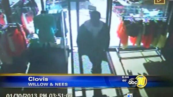 Thieves strike Clovis boutique