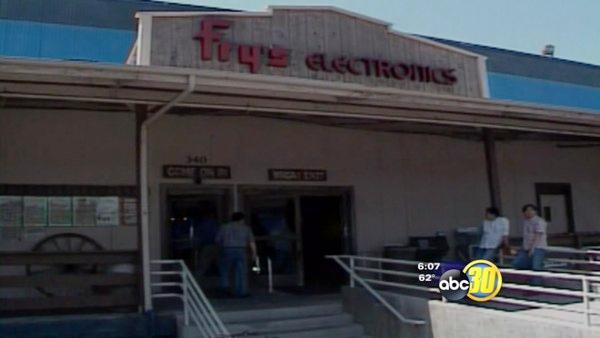 Fry's moves warehouse operation to Hanford from San Jose