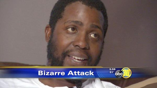 Fresno PG&E worker describes bizarre attack