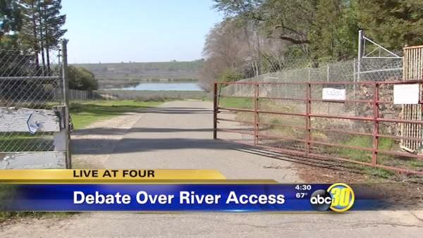 Homeowners seek to restrict San Joaquin River access