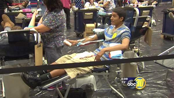 Bullard High School supports blood drive