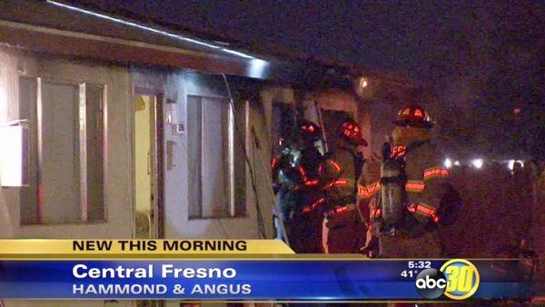 A fight may be the cause of Fresno apartment fire