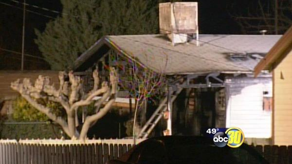 One found dead inside home in Woodlake fire