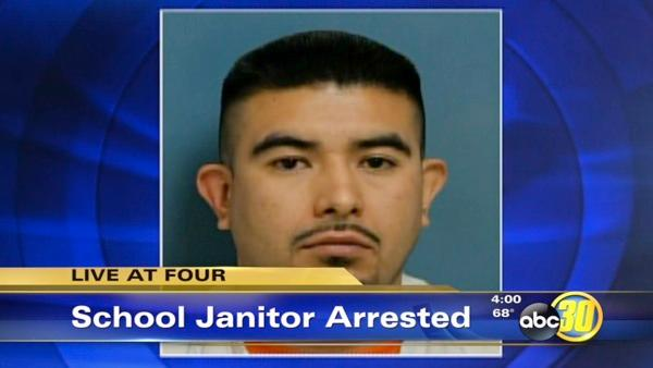 Visalia school janitor accused of lewd acts with children