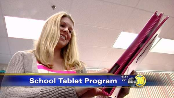 Central Unified students to receive tablet computers