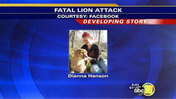 Father of lion attack victim mourns his daughter | 1 of 4
